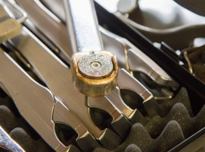 Elektrische Zahnraspel mit Diamantschleifkopf